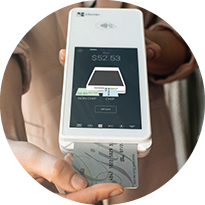 Take customer card payments on-the-go with Clover Flex.